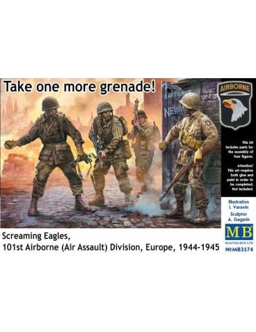 Master Box MB3574 Вот тебе еще одна граната! 101-я воздушно-десантная дивизия, Европа, 1944-19451/35