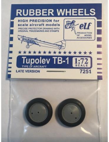 Elf 7251 Колеса на ТБ-1...