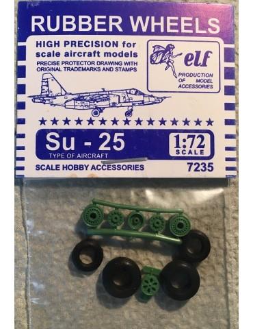 Elf 7235 Колеса на Су-25 1/72