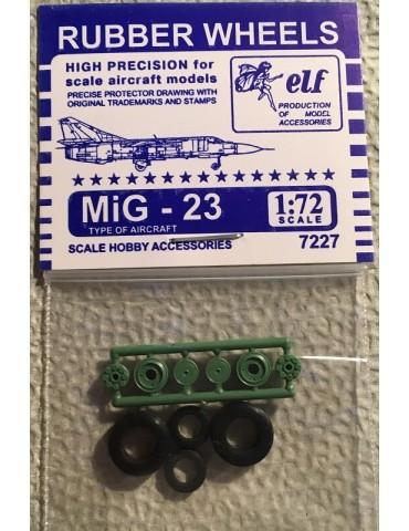 Elf 7227 Колеса на МиГ-23 1/72