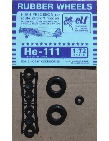Elf 7221 Колеса на He-111 1/72