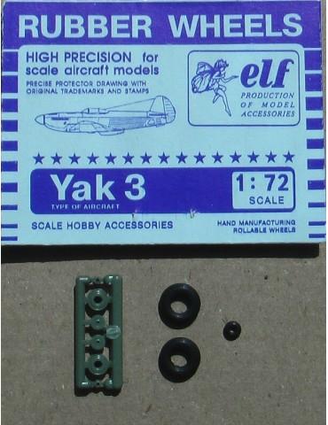 Elf 7208 Колеса на Як-3 1/72