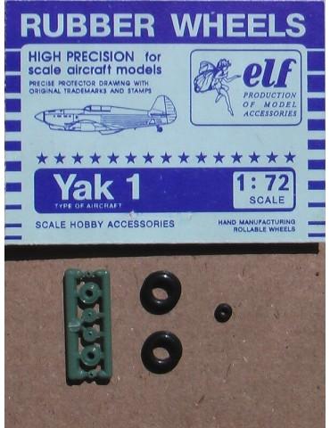 Elf 7207 Колеса на Як-1 1/72