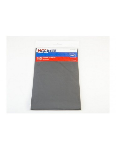 Machete 0116 Наждачная бумага 2000 (2 листа)