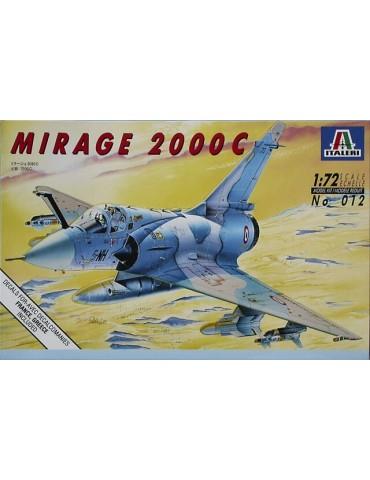 Italeri 012 Mirage 2000C 1/72