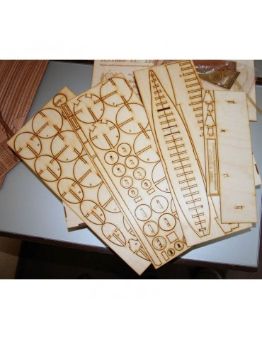 Wooden Кит Субмарина...