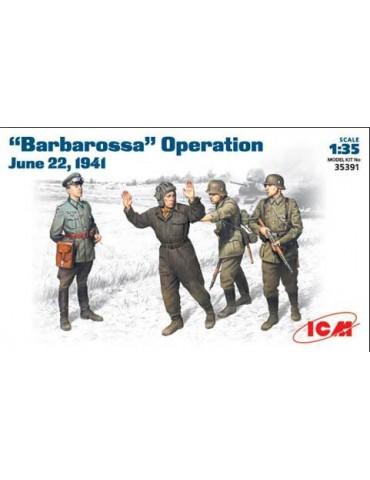 "ICM 35391 Фигуры Операция ""Барбаросса"" 22 июня 1941г. 1/35"