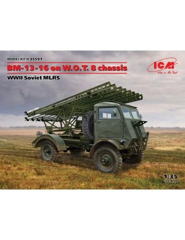 ICM 35591 БМ-13-16 на шасси...