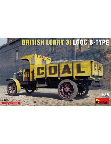 MiniArt 38027 British Lorry...