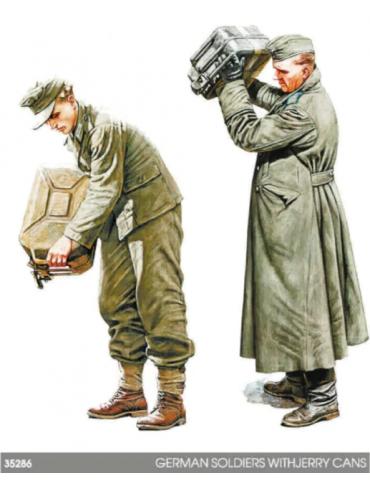 MiniArt 35286 Немецкие солдаты с канистрами 1/35