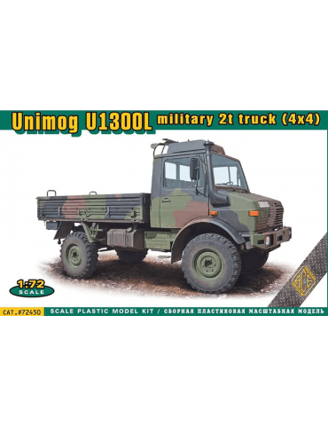 ACE 72450 Unimog U1300L 2t truck (4x4) Military 1/72