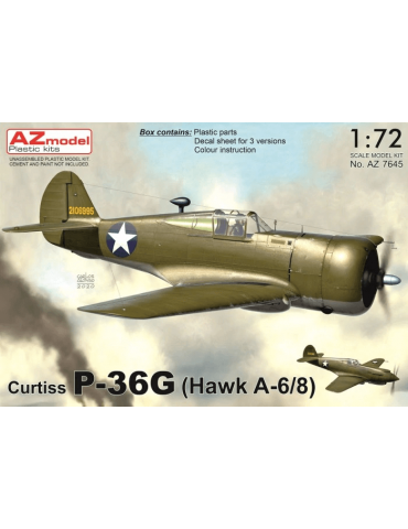 AZ Model AZ7645 Curtiss...