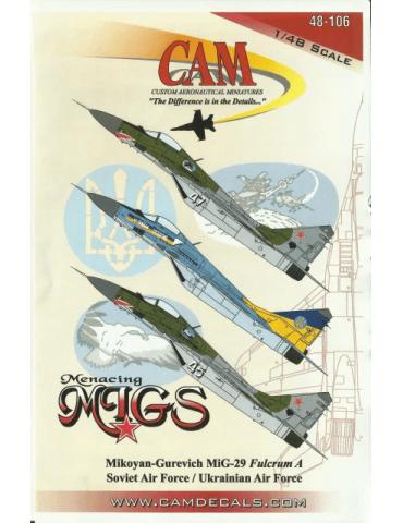 CAM 48-106 МиГ-29А...