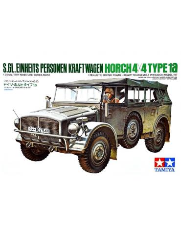 Tamiya 3552 s.Gl. Einheits Personen Kraftwagen Horch 4X4 Type 1a 1/35