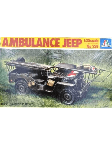 Italeri 326 Ambulance Jeep...