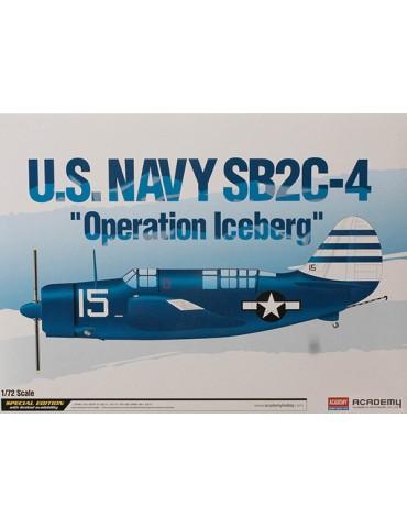 "Academy 12545 U.S. Navy SB2C-4 ""Operation Iceberg"" Special Edition 1/72"