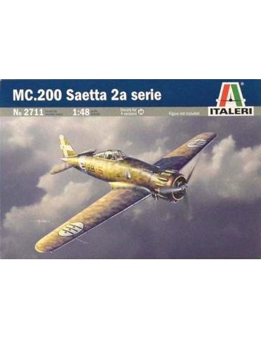 Italeri 2711 MC.200 Saetta 2a serie 1/48