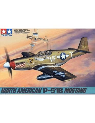 Tamiya 61042 North American P-51B Mustang 1/48