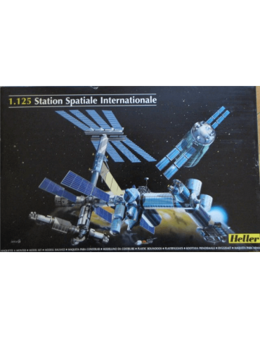 Heller 80444 International Space Station ISS 1/125