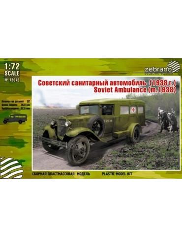 Zebrano 72079 Советский санитарный автомобиль Г-55 (обр. 1938г.) 1/72