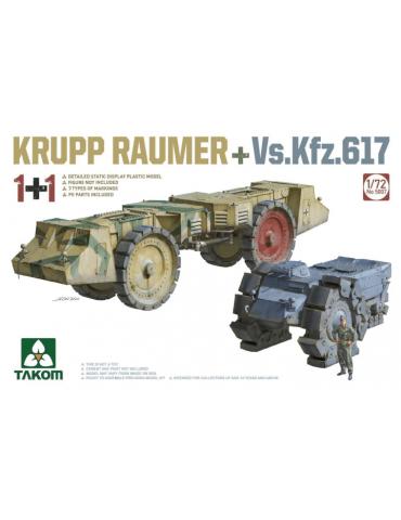 Takom 5007 Krupp Räumer +...