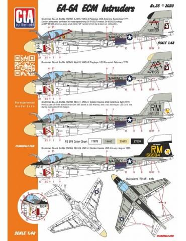 Cut then Add CTA-035 EA-6A...