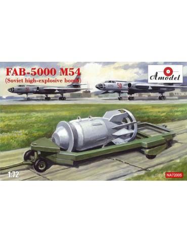 Amodel NA72005 Авиационная бомба ФАБ-5000 М54 1/72