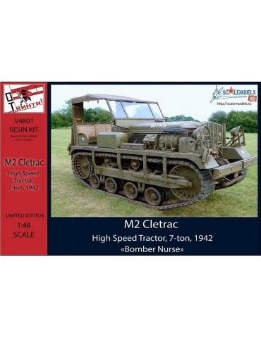"ОтВинта! V4801 M2 Cletrac, High Speed Tractor, 7-ton, 1942 ""Bomber Nurse"" 1/48"