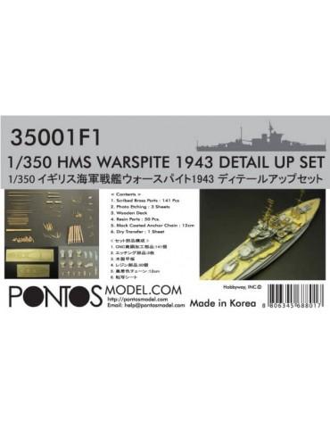 Pontos Model HMS Warspite...