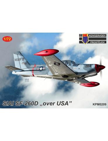 """KP Kovozavody Prostejov KPM0209 SIAI SF-260D """"Over USA"""" 1/72"""
