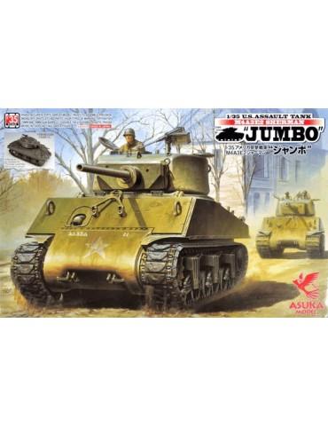 """Asuka Model 35-021 US Assault Tank M4A3E2 Sherman """"Jumbo"""" Cobra King Ver. 1/35"""