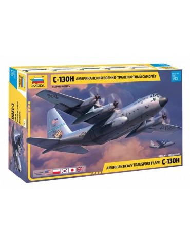 Звезда 7321 Американский военно-транспортный самолет С-130H 1/72