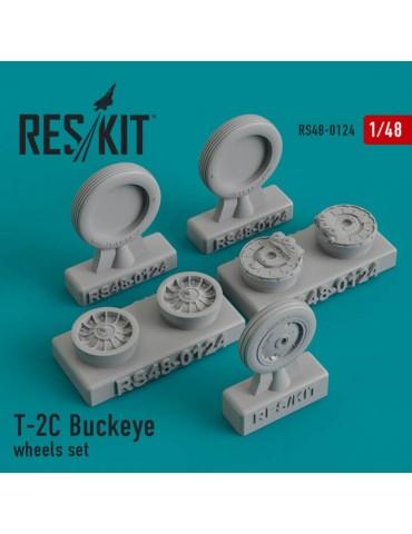 Res/Kit RS48-0124 Смоляные колеса на T-2C Buckeye (Special Hobby) 1/48