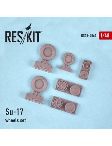 Res/Kit RS48-0061 Смоляные колеса на Су-17 1/48