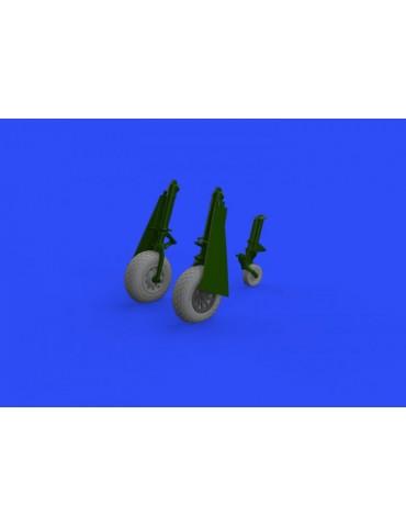 Eduard 648503 P-51D wheels...