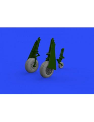 Eduard 648505 P-51D wheels...