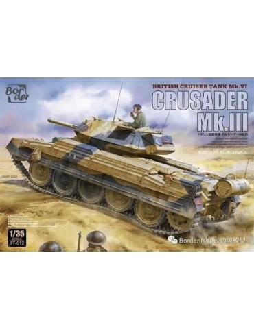 Border BT-012 Crusader Mk.III British Cruiser Tank Mk. VI 1/35