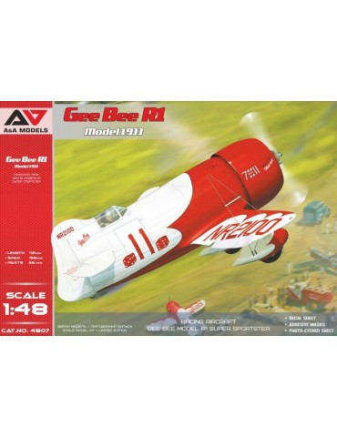 A&A Models 4807 Gee Bee R1...