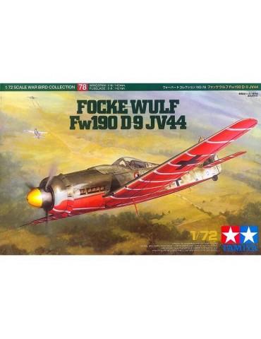 Tamiya 60778 Focke-Wulf Fw190 D-9 JV44 1/72