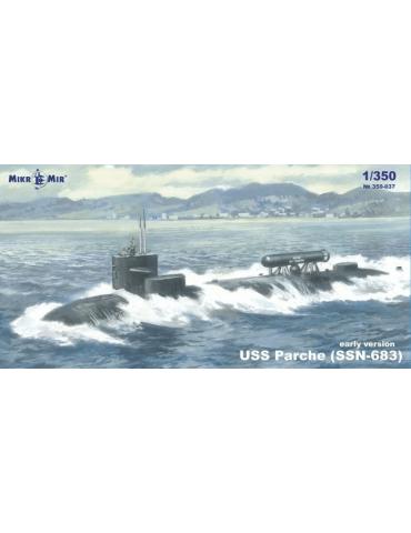 MikroMir 350-037 USS Parche...