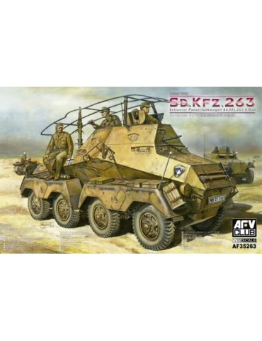 AFV Club AF35263 Schwerer Panzerfunkwagen Sd.Kfz.263 8-Rad Sd.Kfz.263 1/35 + дополнение