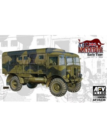AFV Club AF35236 AEC Matador Early Type 1/35