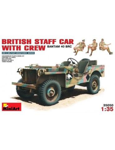 Miniart 35050 British Staff...