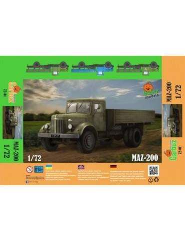 Garbuz Models 72-01 МАЗ-200...