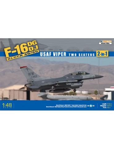 Kinetic K48005 F-16DG/DJ...