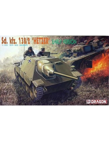 "Dragon 6030 Sd.Kfz. 138/2 ""Hetzer"" Early Version 1/35"
