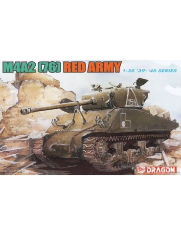 Dragon 6188 M4A2 (76) Red...