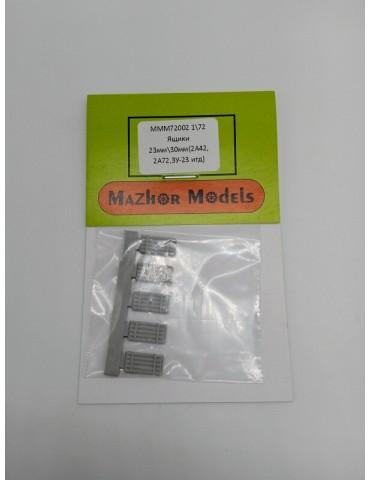 Mazhor Models MM72002 Ящики...