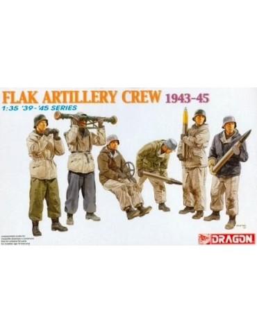 Dragon 6275 Flak Artillery Crew 1943-45 1/35