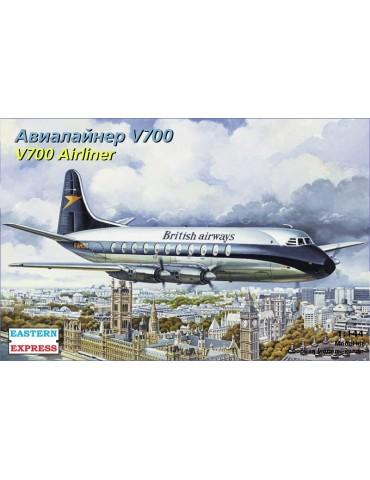 Eastern Express ЕЕ144138 Viscount 700 British airways / BOAC 1/144